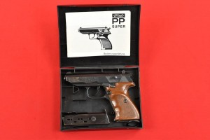 #1602 PISTOLET WALTHER PP SUPER, NIEMCY, Kal. 9x18 POLICE