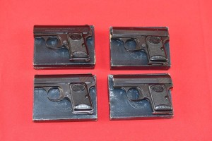 #3939 CZTERY PISTOLETY FN BROWNING BABY, Kal. 6,35